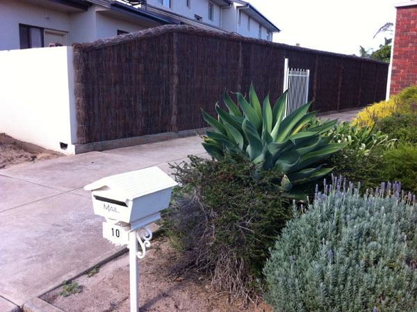 Never Sag Brush Fencing Panel Systems