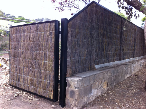 Welcome To Ausbrush Panels And To Adelaide Brush Fencing